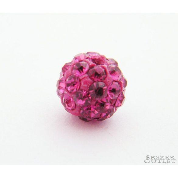 Shamballa gyöngy. Kristály gyöngy. 8mm. 30 szín!   10db.