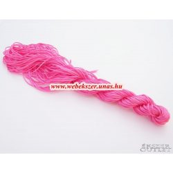 Shamballa fonal. Nylon fonal. 1mm. 25m. Pink.   Legjobb ár!