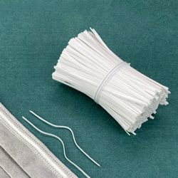 Pvc borítású, drót. 10cm. 100db/csomag.