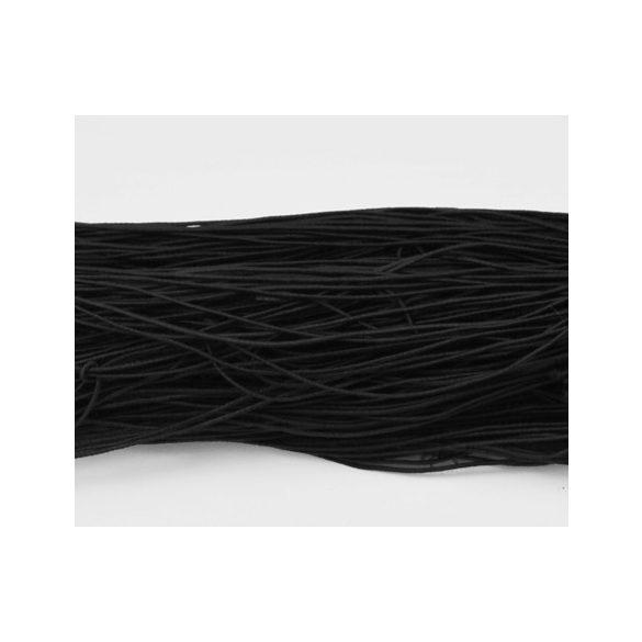Kalapgumi. 1mm. Fekete. 27m/csomag.
