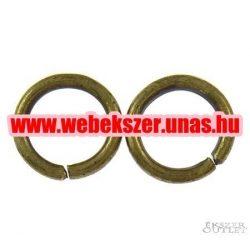 Fém karika. 1.20x8mm. Antik bronz. 100db.