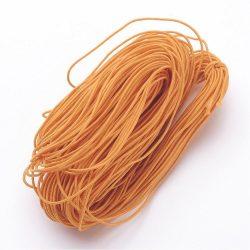 Gumizsinór, kalap gumi. 1mm. Narancs. 27m/csomag.