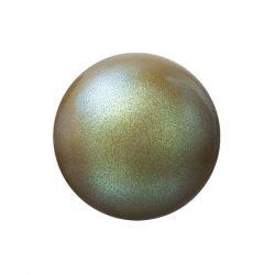Preciosa gyöngy. 6mm. Pearlescent khaki.