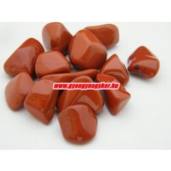 Vörös jáspis ásvány marokkő. 100 gramm/csomag.
