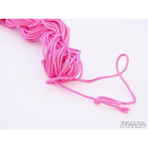Shamballa fonal. Nylon fonal. 1.5mm. 12.5 m. Pink.