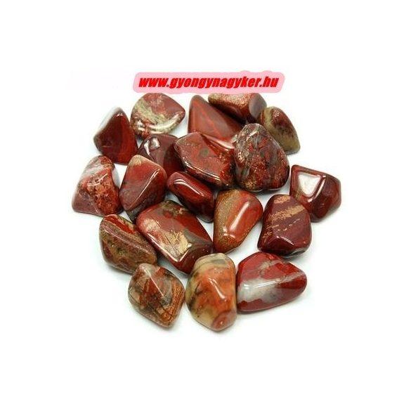 Breccsajáspis ásvány marokkő. 100 gramm/csomag.