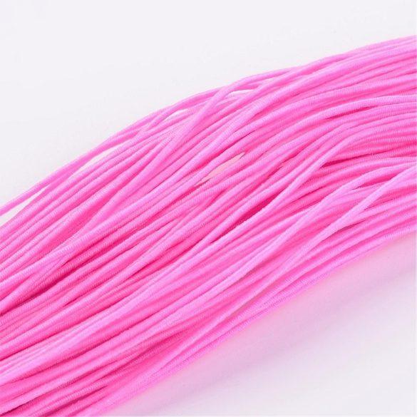 Kalapgumi. 1mm. Rózsaszín. 27m/csomag.