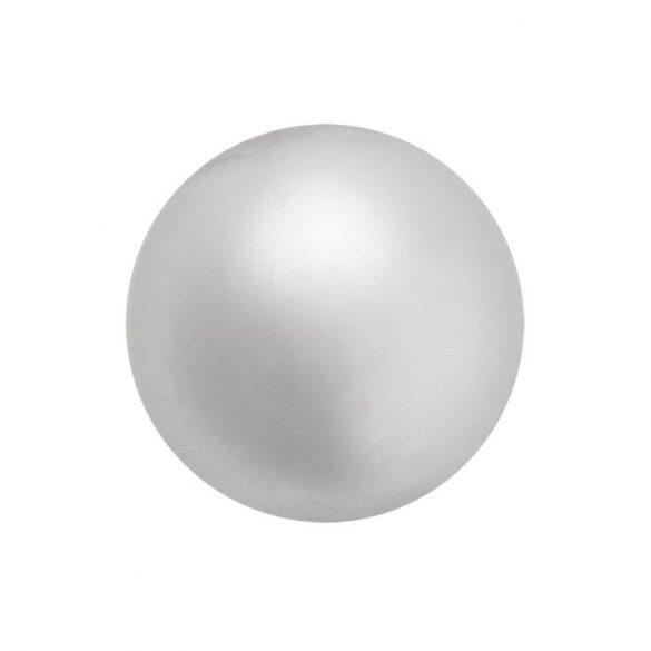 Preciosa gyöngy. 6mm. Light grey.