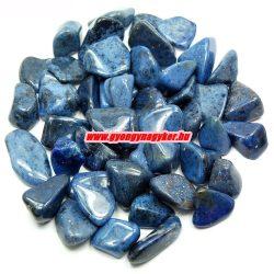 Dumortierit ásvány marokkő. 100 gramm/csomag.