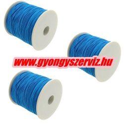 Gumizsinór, kalapgumi. 0.8mm. Kék. 10m/db.