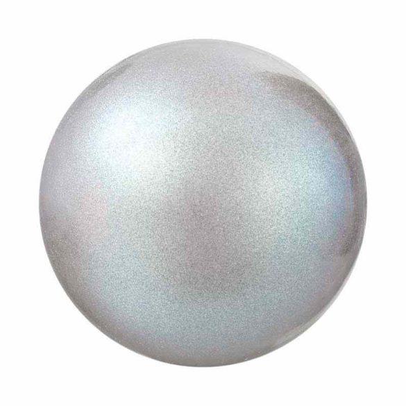 Preciosa gyöngy. 6mm. Pearlescent grey.