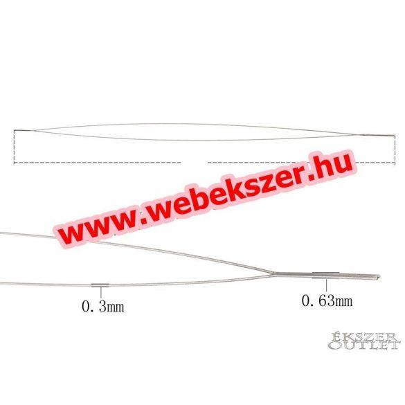 Gyöngyfűző tű. 0.5x125mm
