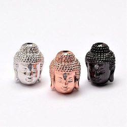 Cirkon buddha fej. 4 színben kérhető.