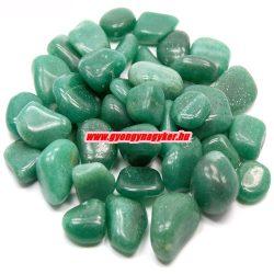 Zöld aventurin ásvány marokkő. 100 gramm/csomag.