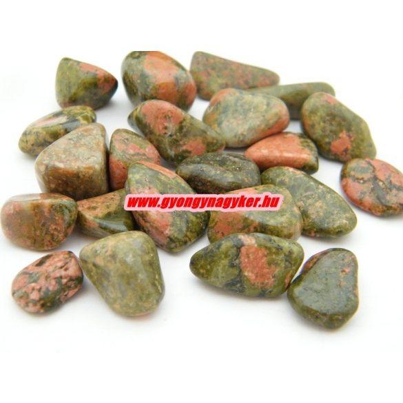 Unakit ásvány marokkő. 100 gramm/csomag.