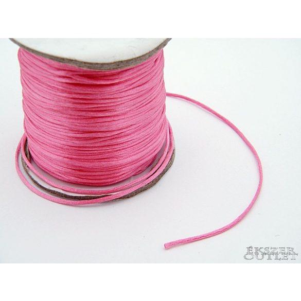 Shamballa nylon fonal. 1.5mm. Pink.   72m/db