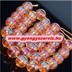 Aura kvarc, aura kristály. 6mm. Pezsgő.