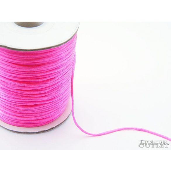 Shamballa fonal. 1.5mm . Neon pink.   72m/db