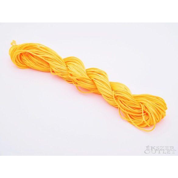 Shamballa fonal. Nylon fonal. 1.5mm. 12.5m. Narancs.