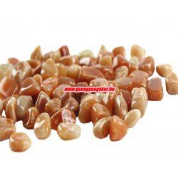 Vörös aventurin ásvány marokkő. 100 gramm/csomag.
