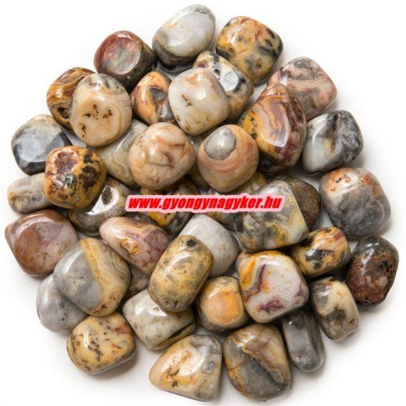 Csipkeachát ásvány marokkő. 100 gramm/csomag.