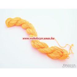 Shamballa fonal. Nylon fonal. 1mm. 25m. Narancs.   Legjobb ár!