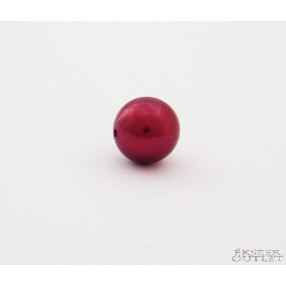 Shell pearl gyöngy. 10mm. Meggy.1 szál. (kb. 40cm)