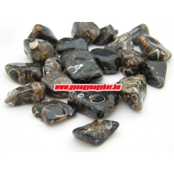 Turitella achát ásvány marokkő. 100 gramm/csomag.