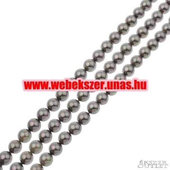 Shell pearl gyöngy. 10mm. 1 szál. (kb. 40cm)