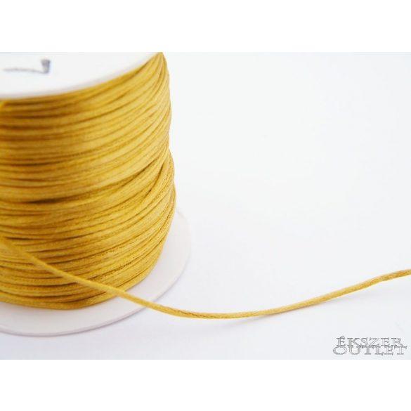 Shamballa fonal. Nylon fonal. 1.5mm. Óarany.   72m/db