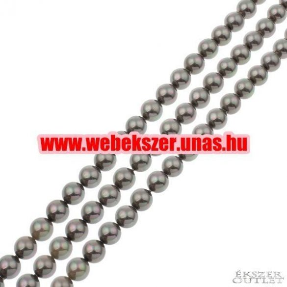 Shell pearl gyöngy. 8mm.  1 szál. (kb. 40cm)